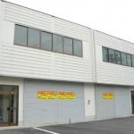 加西市中心部の倉庫付事務所物件。