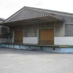 山電 西飾磨駅近く、事務所付の大型倉庫物件。