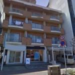 JR西明石駅近く、内装スケルトンの1階店舗物件。