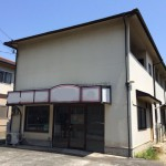 山電 飾磨駅近く、日当りの良い店舗付住宅物件。