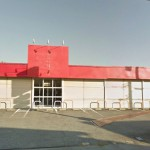 JR上郡駅近く、平屋建てスケルトンの大型店舗物件。