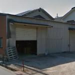 JR網干駅近く、1階平屋建ての倉庫物件。