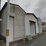 JR姫路駅徒歩圏内、シャッター付の倉庫物件。