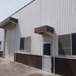 JR網干駅近く、大型の事務所付倉庫物件。