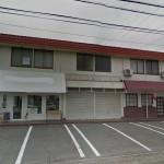 JR網干駅徒歩圏内、2階建ての店舗物件。
