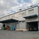 JR網干駅近く、リフト付の2階建て大型倉庫物件。