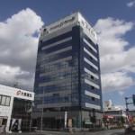 姫路市役所より徒歩5分、タワーパーキングのある事務所物件。
